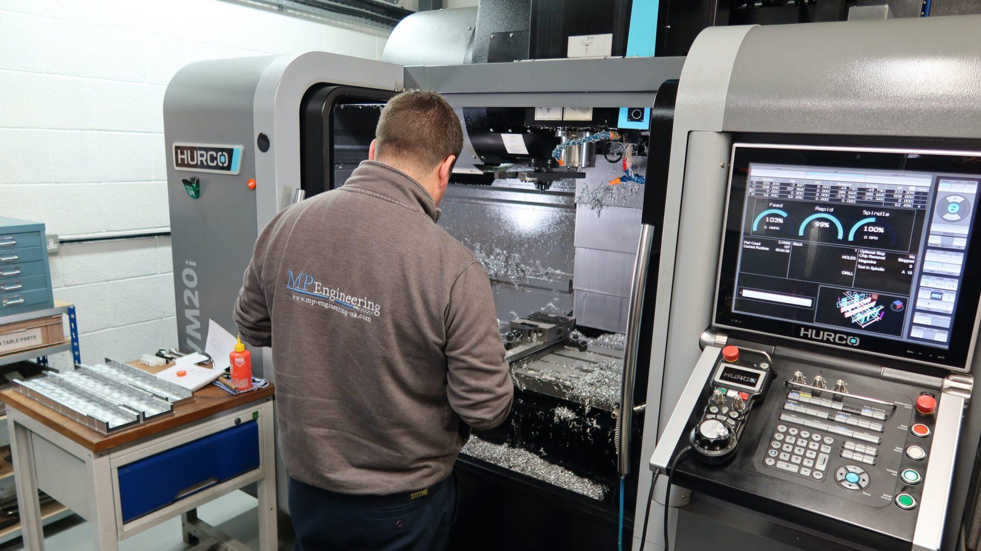 CNC Milling Service Wiltshire